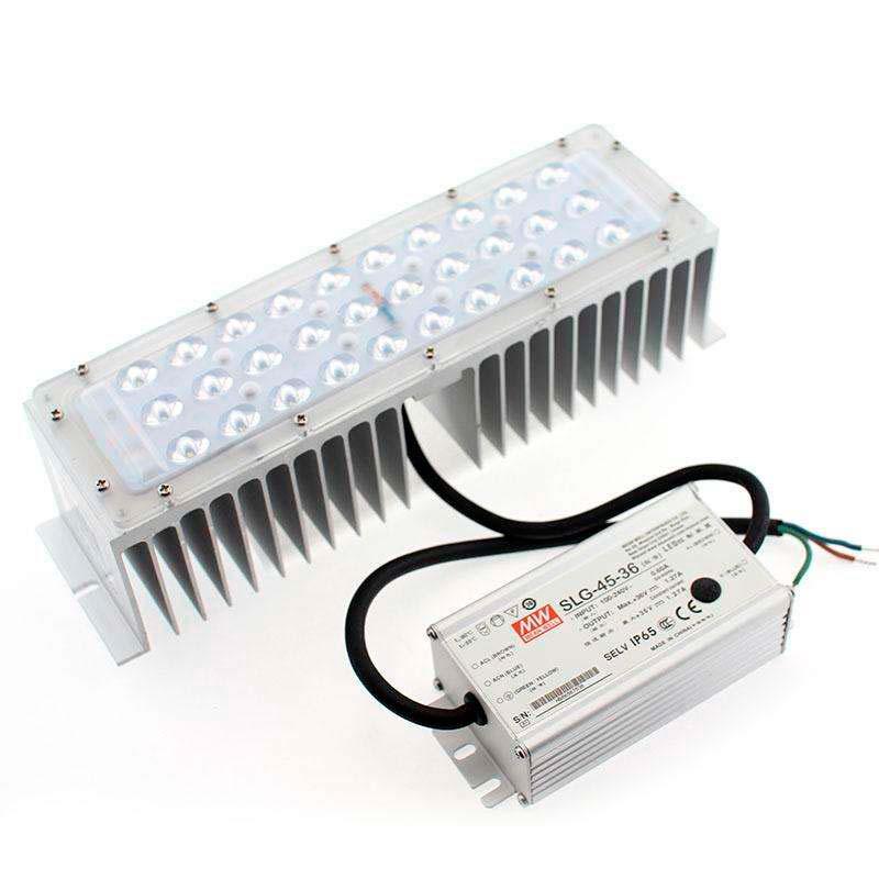 Kit LED Farola Fernandina y Villa Philips 30W + Mean Well